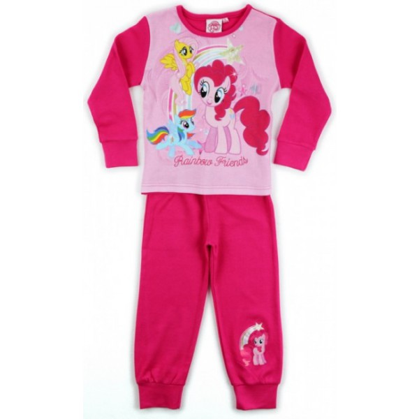 gyermek pizsama MY LITTLE PONY - sötét rózsaszín - méret  92 80bea22dc1
