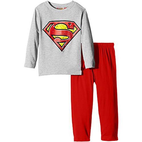 gyerek hosszú pizsama SUPERMAN - piros  104 - 4 év. f0e757e533