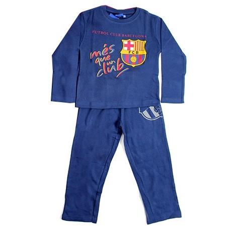 gyermek pizsama FC BARCELONA - kék - méret  104 - 4 év. 85db09d8bc