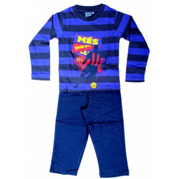 gyermek pizsama FC BARCELONA STRIPE - kék - méret  110 - 5 év. e5012dd05c