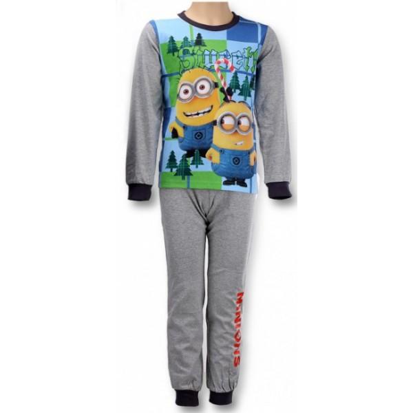 gyermek pizsama MINIONS - Minyonok - szürke - méret  104   4 év 0f2f5fe70e