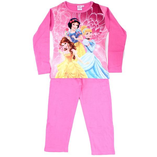 gyerek pizsama PRINCESS - Hercegnők - világos rózsaszín - méret  92 0791cc2547
