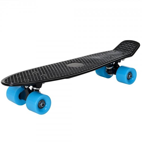 0faa1bbd8a26 [pro.tec]® Pennyboard retro gördeszka 57 x 15 x 12 cm skateboard penny  board fekete kék