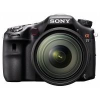 Sony Alpha SLT-A77VQ digitális fényképezőgép kit (16-50mm objektívvel)