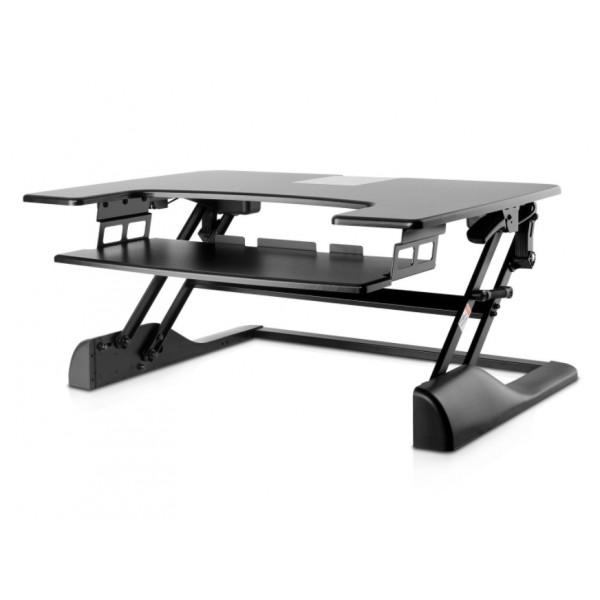 7d09530cae73 V7 ülő és álló asztali munkaállomás konzol (DT1SSB-1E) notebook tartó-hűtő