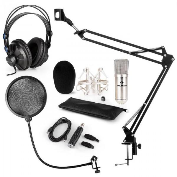 Auna CM001S mikrofon készlet V4 fülhallgató c95c9e9db3