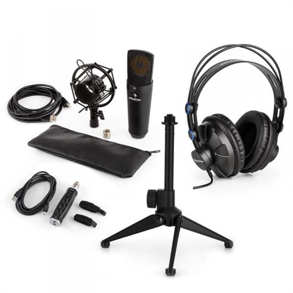 Auna auna MIC-920B USB mikrofon készlet V2 - fülhallgató 3077988eaa