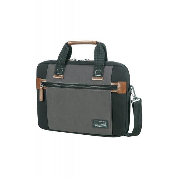 Samsonite Sideways Laptop táska Fekete Szürke (22N 19002) notebook táska 23446b039a