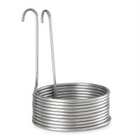 Aufwärtsspirale hűtőspirál, sörhűtő spirál, 10 kör, Ø 25,5cm