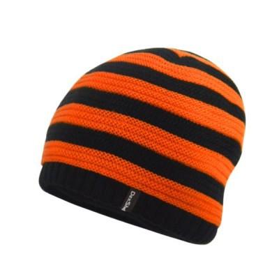 DexShell BEANIE STRIPED Gyerek sapka - Fekete   Narancs 39fdcb806d