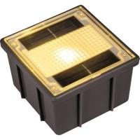 Napelemes beépíthető lámpa Melegfehér Heitronic Ground 1 35381 Melegfehér