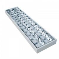 2x36W falon kívüli tükrös fénycső armatúra - EVG