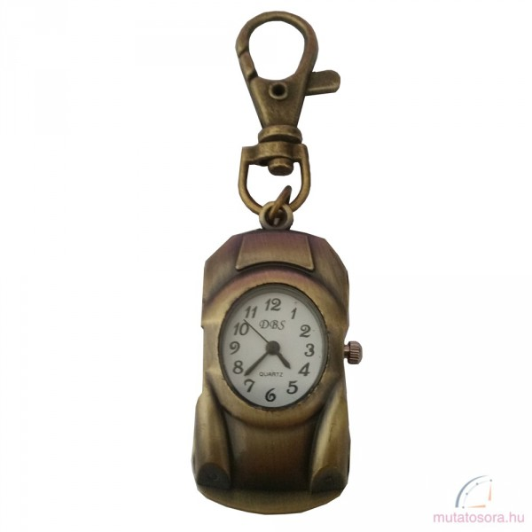 DBS bronz kulcstartó óra - autó 37458c1133