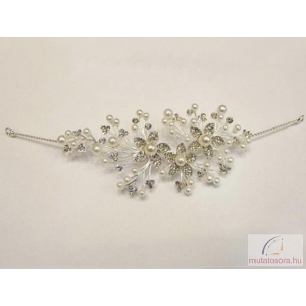 BSL7-HD-7090 menyasszonyi hajdísz. Különleges és elegáns esküvői hajdísz  swarovski kristályokkal ... 585d6ce1f3