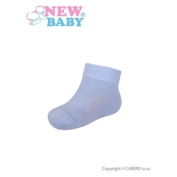 000ca40b9f NEW BABY | New Baby | Baba pamut zokni New Baby kék | Kék | 56 (0-3 h)