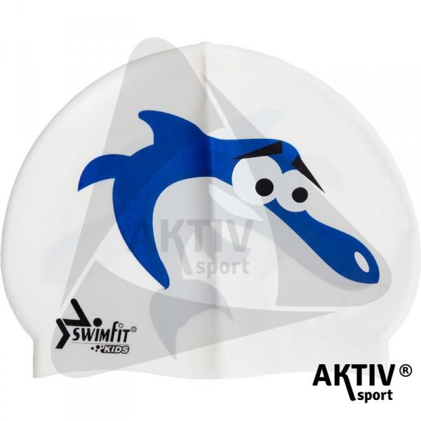 Úszósapka Swimfit delfines fehér ef1c5a54af