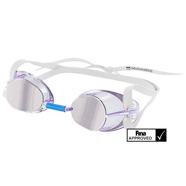 Svéd verseny úszószemüveg jewel collection Fina jóváhagyott legújabb modell  - Amethyst lila e5b6080e03