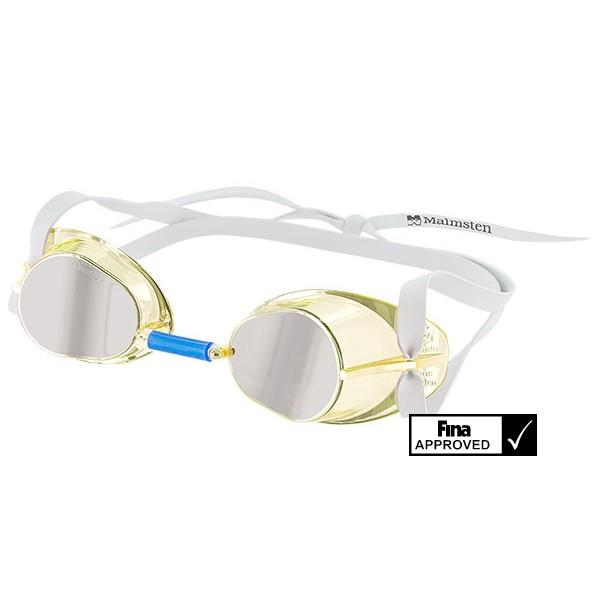 Svéd verseny úszószemüveg jewel collection Fina jóváhagyott leújabb modell  - sárga Citrine bd6a35e1fd