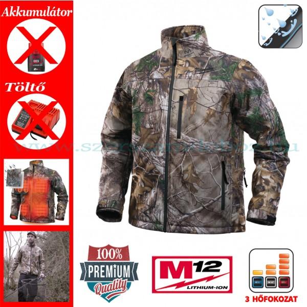 MILWAUKEE M12 HJ CAMO4-0 (S) Premium terepszínű fűthető kabát da976c9475