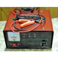 Akkumulátor töltő 12V-24V/230V-50A