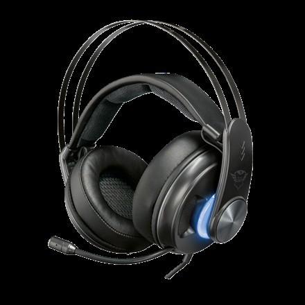 Trust GXT383 Dion Bass Vibration 7.1 fejhallgató. Típus Mikrofonos  Fejhallgató ... 72c50a5ce8