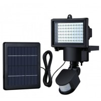Mozgásérzékelős LED Solar (napelemes) reflektor kültéri használatra