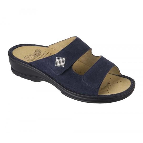 Scholl Atria sötétkék női papucs sarok és lábizomvédő technológiával  cserélhető talpbetéttel 37 c6e2428843