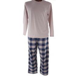 JPRESS JPRESS MWPJ013 férfi pamut pizsama 08d81e7d1d