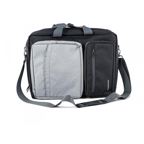 Modecom Reno notebook táska   hátizsák fekete-szürke (TOR-MC-RENO-GRE) 80a2117b0f