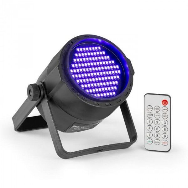 c210cded91 Beamz PLS20 Blacklight UV Par, LED reflektor, 120 x 3528 LED dióda,  akkumulátor, távirányító