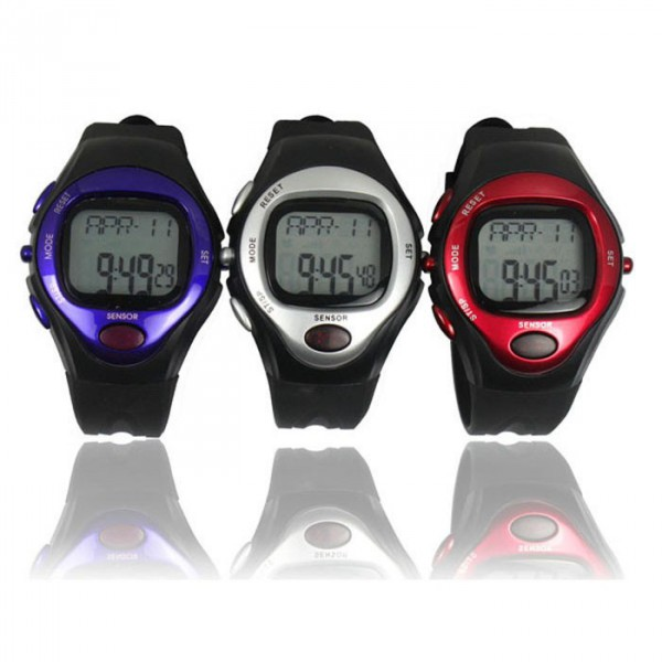 Pulzusmérő karóra pulzusszámláló sport óra b8e30e7b02