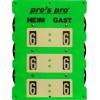 Pro's Pro V112 tenisz eredményjelző, zöld