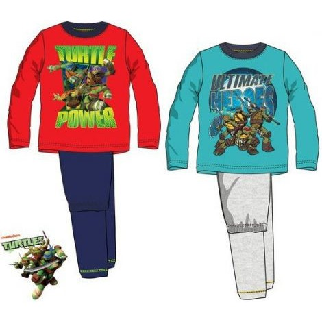 Gyerek hosszú pizsama Ninja Turtles 17a4f02929