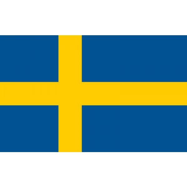 Nemzeti lobogó ország zászló nagy méretű 90x150cm - Svédország b65437bfee