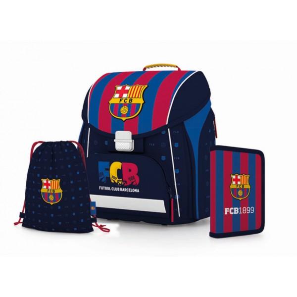 953d874654dd kompakt easy iskolatáska + tolltartó + papucstáska FC BARCELONA - PLAYERS  2018