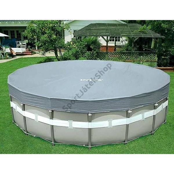 Takaró fólia 549 cm-es csővázas medencéhez INTEX DELUXE 28041 053d9e5372
