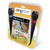 SingStar Summer Party + mikrofonok - PS2