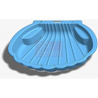 Dorex Kagylós medence-homokozó #2075