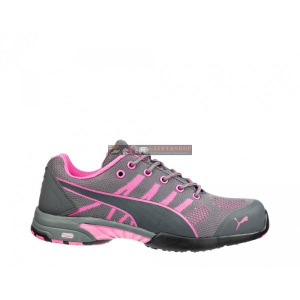 6ba24565c4 PUMA 642910 Celerity Knit Pink Wns Női Védőcipő S1P HRO SRC