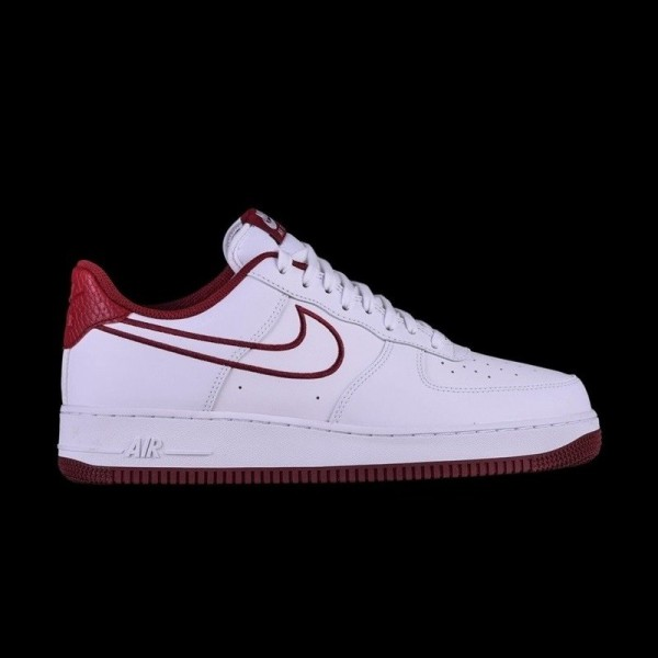 6033f7ead86 Nike Air Force 1 Low  07 Leather White Team Red · »