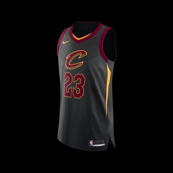 Nike Cleveland Cavaliers LeBron James NBA Statement Authentic Jersey · » 7cd18227c5
