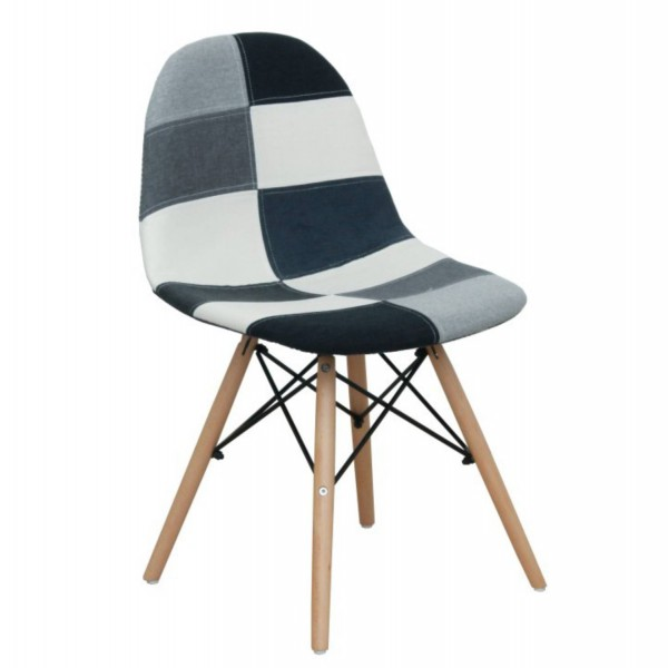 étkező szék CANDIE NEW TYP 3 fekete fehér mintás kivitelben  8da5396ffe