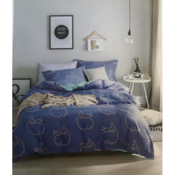 7 részes Ágynemű Garnitúra-Blue Fish 697c52a425