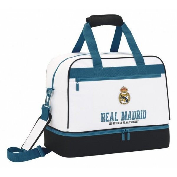 sport táska REAL MADRID - OUR FUTURE IS TO MAKE HISTORY - white - nagyobb 0480b3a4b2