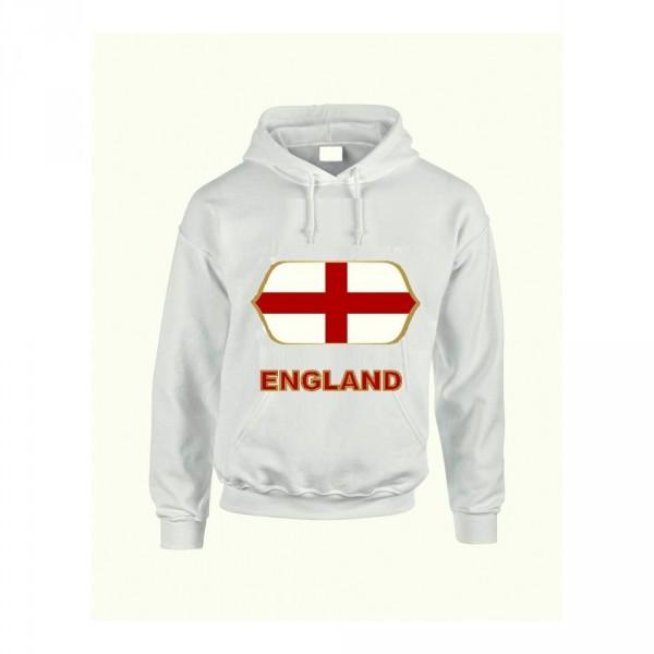 England feliratos kapucnis pulóver (fehér) - England válogatott pulcsi 13bcc87499