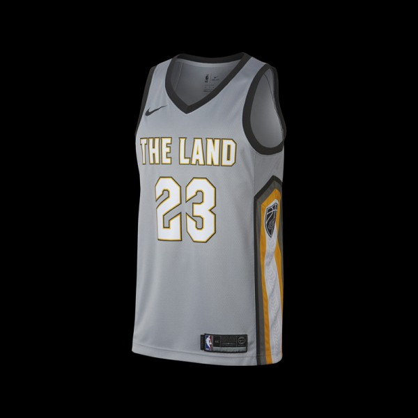 Nike Cleveland Cavaliers Lebron James NBA City Edition Swingman Jersey · » 3f38516be4