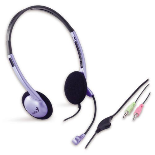HS-02B lila fekete - (Headset) - mikrofonos fejhallgató. 4b80351f39