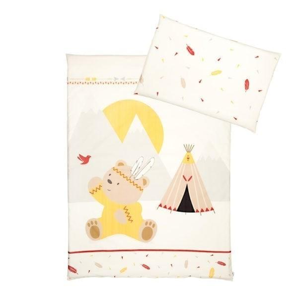 Albero Mio dupla rétegű takaró + párna - K072 Indian Girl   Indián macilány dad71d38aa