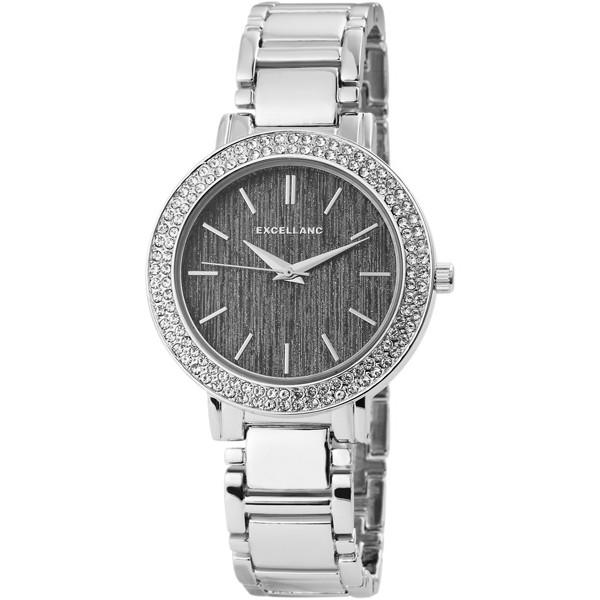 Excellanc Jewel ezüst fémszíjas női karóra kövekkel EX181033EX 3f3e76e501