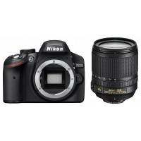 Nikon D3200 fényképezőgép kit (18-105mm objektívvel)